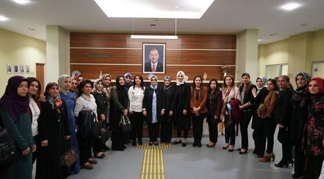 AK Parti Şanlıurfa İlçe Kadın Kolları Başkanları Belli Oldu