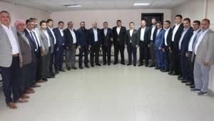 AK Parti Şanlıurfa Yönetimi, Ayhan'ı Ziyaret Etti-Videolu Haber