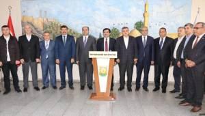 AK Parti Yerel Yönetimler Başkan Yardımcısı Şanlıurfa'ya Geldi