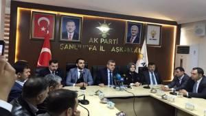 AK Şanlıurfa Kadın Kolları ve Gençlik Kolları Başkanı Tanıtıldı