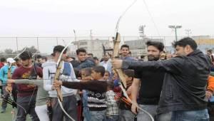 Akçakale'de Gençler İçin Okçuluk Kursu Açıldı