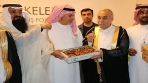 Bakan Fakıbaba Arap İş Adamlarını Ağırladı