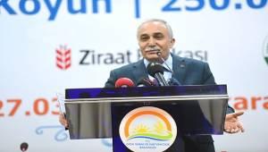 Bakan Fakıbaba, Çiftçilere 100 bin TL faizsiz kredi verilecek