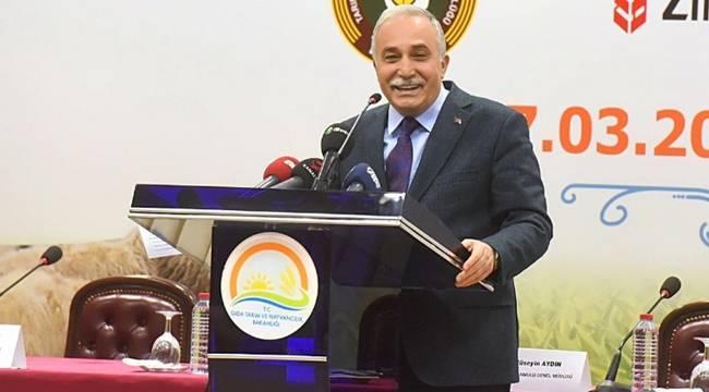 Bakan Fakıbaba, Tarımsal GSYH Rakamlarını Açıkladı
