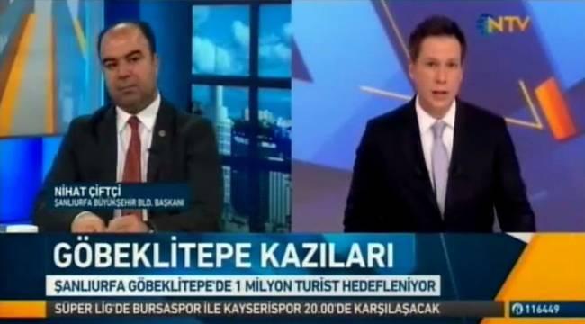 Başkan Çiftçi NTV'de Urfa'daki Çalışmaları Değerlendirdi-Videolu Haber