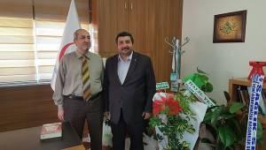 Başkan Güler'den Yetkin'e Ziyaret