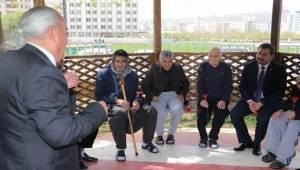 Baydilli'den Yaşlılara Vefa Örneği-Videolu Haber