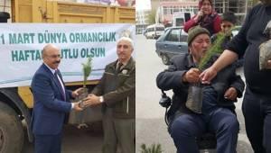 Bozova'da 5 Bin Fidan Dağıtıldı