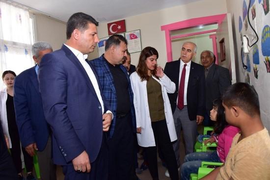 Ceylanpınar Belediyesi Down sendromlu çocukları unutmadı
