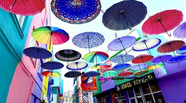 Ceylanpınar'da Şemsiyeli Gönül Sokağı Kuruluyor-Videolu Haber