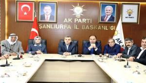 Çiftçi'den AK Parti İl Başkanı Beyazgül'e Ziyaret-Videolu Haber