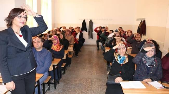 Eyyübiye HEM 1317 kursla 22 bin 533 vatandaşa ulaştı