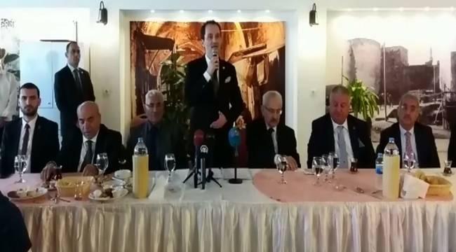 Fatih Erbakan Şanlıurfa'ya Geldi-Videolu Haber