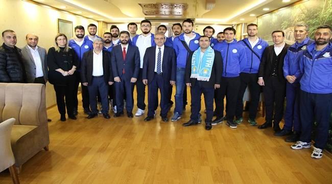 Haliliye Voleybol Takımı Şampiyonluk Sözü Verdi-Videolu Haber