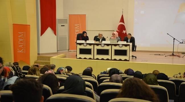 Harran Üniversitesinde Kadınlar Günü Paneli