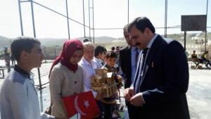 İl Müdürü Turan Süleymaniye Geçici Eğitim Merkezini Ziyaret Etti