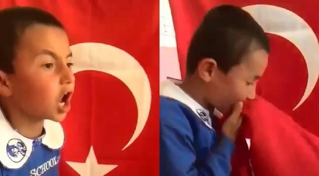 İstiklal Marşını Okuyan Minik Urfalı Duygulandırdı-Videolu Haber