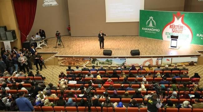 Karaköprü'de Bilinçli Aile, Duyarlı Gençlik Semineri Düzenlendi