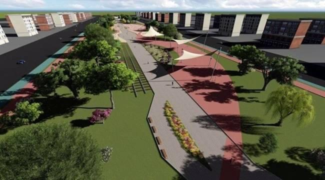 Kent Parkın Yapımına Başlanıldı