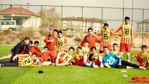 Malatya Spor Lisesi Şampiyona İçin Urfa'ya Geldi