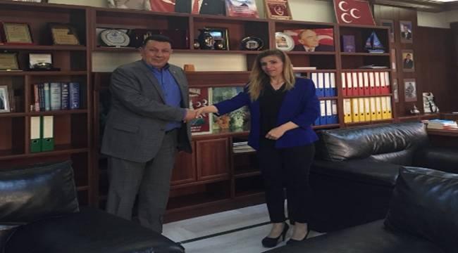 Milli Birlik ve Kardeşlik Federasyonundan Özyavuz'a Ziyaret