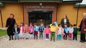 Minik Öğrencilerden Okuma Evine Ziyaret-Videolu Haber