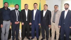 Saadet Partisi Haliliye'den HÜDA PAR'a Haliliye'ye Ziyaret