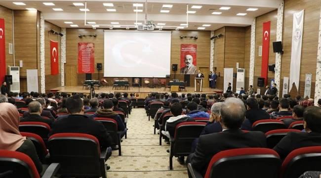 Şanlıurfa'da İstiklal Marşının Kabulu ve Mehmet Akif Ersoy Anıldı