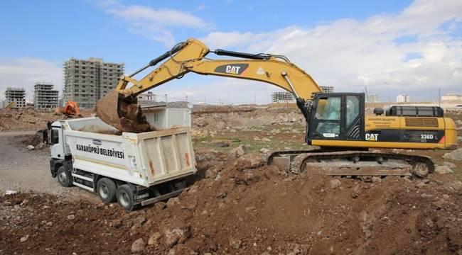Seyrantepe (Toki-Maşuk) Mahallesinde Yeni Yollar Açılıyor