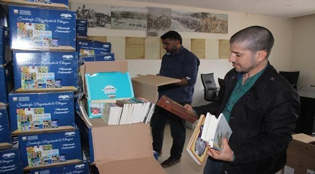 Siverek'e 13 Bin Adet Kitap Gönderildi