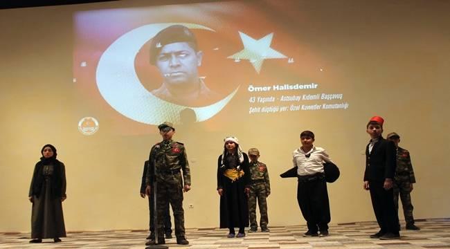 Siverek'te İstiklal Marşının Kabulü Kutlandı