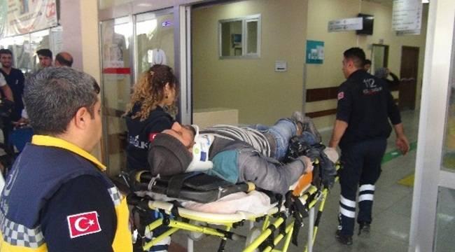 SSK Kavşağında Kaza, 3 Yaralı