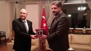 Tümgeneral Çitil'den Büyükelçi Önen'e ziyaret