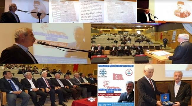 TYB'den İstiklal Marşı ve Mehmet Akif Ersoy Konferansı