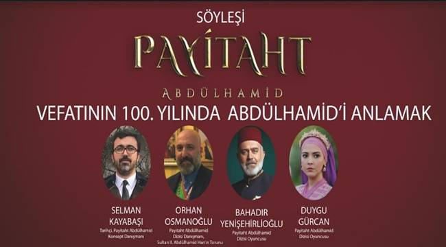 Ulu Hakan Abdülhamid Han Şanlıurfa'da Anılacak