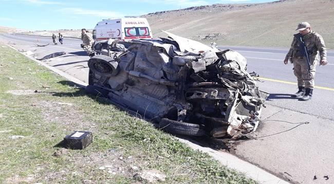 Urfa-Antep Yolunda Kaza, 1 Ölü 1 Yaralı