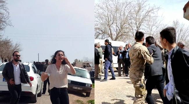 Urfa'da Okul'da Taşlı Sopalı,Silahlı Kavga