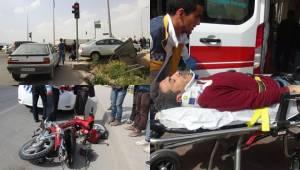 Urfa'da Otomobil Motoru Altına Aldı, Biri Ağır 3 Yaralı