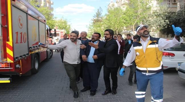 Urfa'da Yangın Can Aldı, Baba Sinir Krizi Geçirdi
