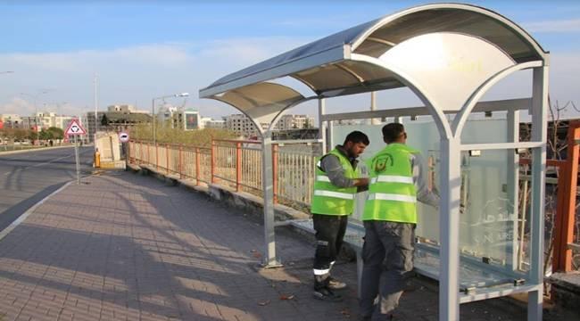Urfa'da Yeni Toplu Taşıma Durakları Yapılıyor-Videolu Haber