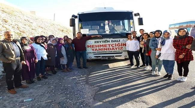 Urfalı Gençlerden Mehmetçiğe Moral Ziyaret