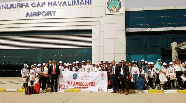 Urfalı Öğrenciler İstanbul ve Trabzon'a Misafir Oldu