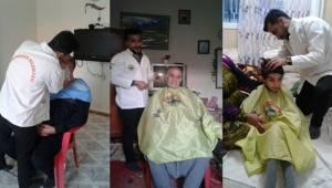 Viranşehir'de Evde Kişisel Bakım Hizmeti Başladı