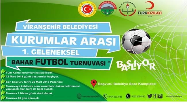 Viranşehir'de Futbol Turnuvası Başvuruları Başladı