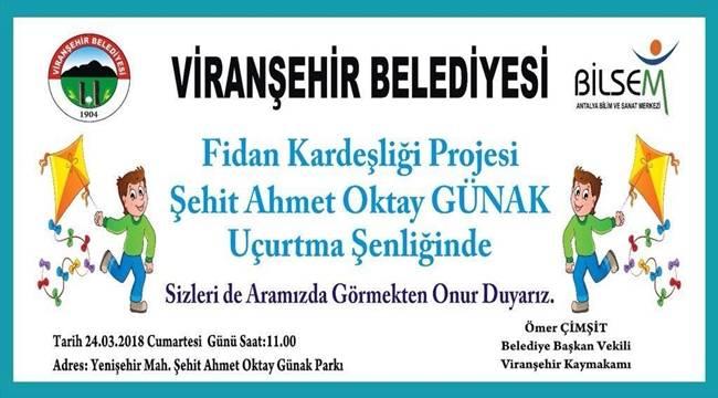 Viranşehir'de Uçurtma Şenliği Yapılacak