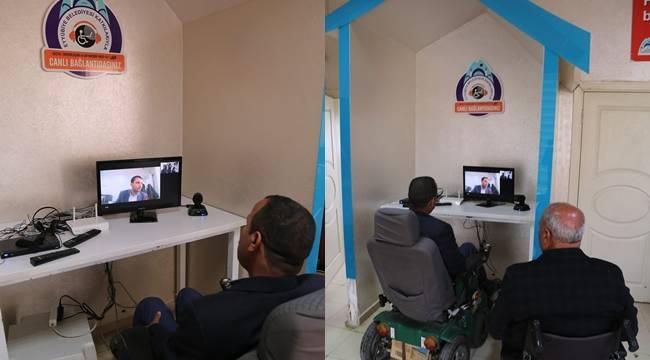 Yaşlı ve Engellilere Video Konferanslı Hizmet-Videolu Haber