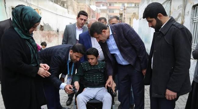 Yusuf Efe'nin Tekerlekli Sandalye Sevinci-Videolu Haber