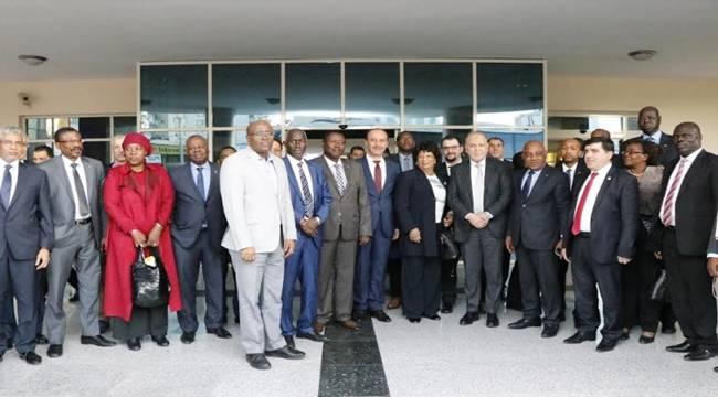 Afrika Ülkeleri Büyükelçileri Şanlıurfa Valiliğinde