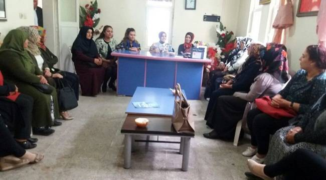 AK Parti Halfeti Kadın Kolları Mülakatı Yapıldı