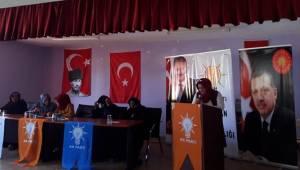 Ak Parti Harran Kadın Kolları Başkanı Güven Tazeledi